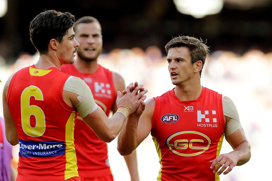 Jarryd Lyons played 92 games for the Crows and Suns - AFL,Gold Coast Suns,Jarryd Lyons,Jack Leslie,Contracts