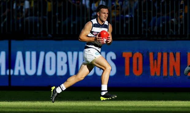 Scan's on Cory Gregson's left foot have confirmed a midfoot sprain. - Geelong Cats,Lachie Henderson,Cory Gregson