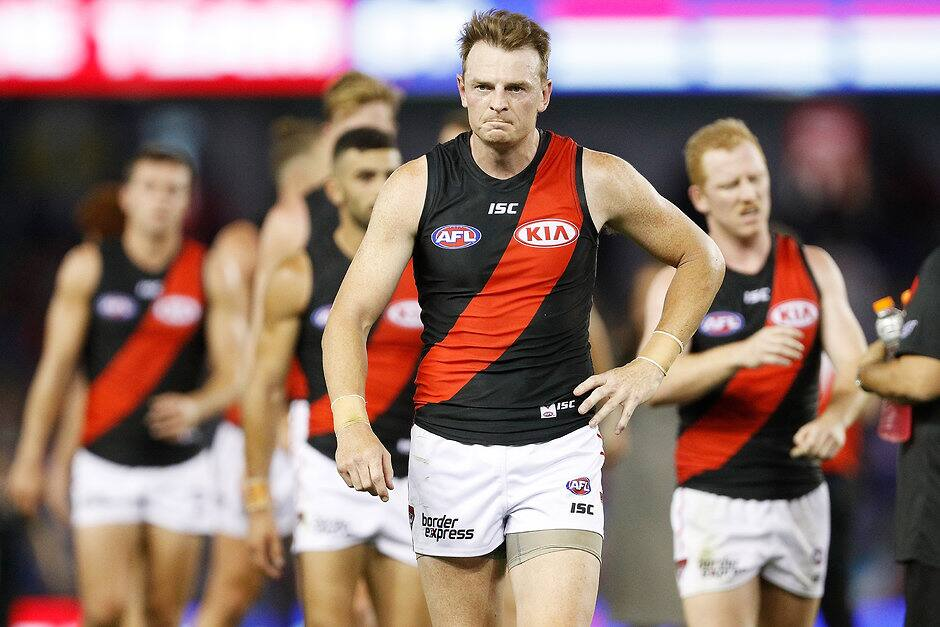 Brendon Goddard could play his last game in Essendon colors - AFL, Port Adelaide Power, Essendon Bombers
