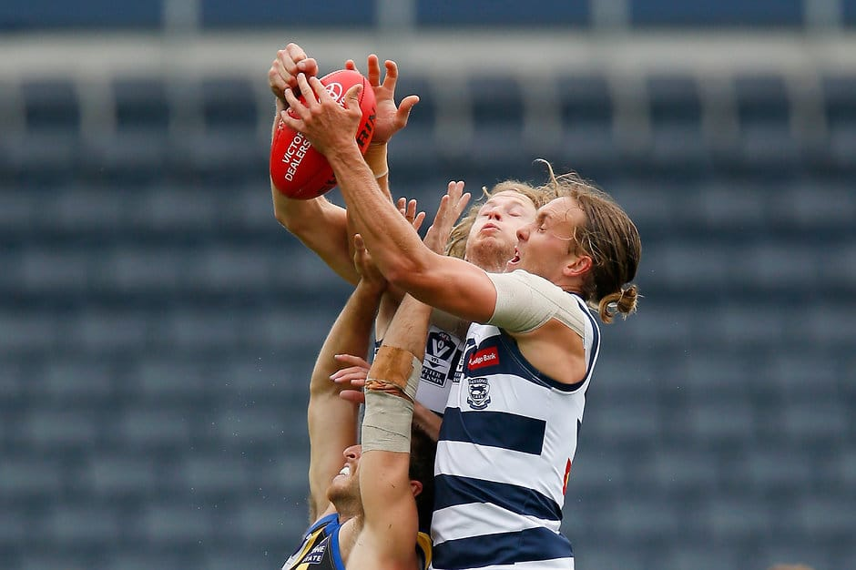 The Cats have come up short against a talented Sandringham outfit, falling to the Zebras by two points. - Geelong Cats