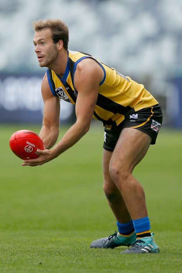 Bailey Rice has waited three years for his AFL debut - AFL,St Kilda Saints,Bailey Rice