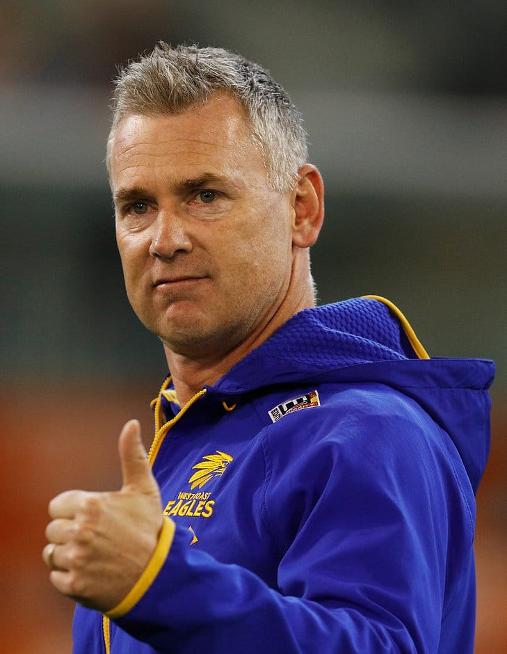 Adam Simpson and the Eagles have enjoyed a stunning renaissance in 2018 - AFL,West Coast Eagles,Adam Simpson
