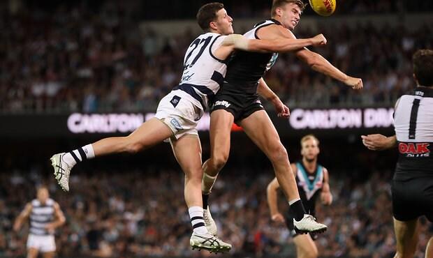 AFL 2018 Round 05 - Port Adelaide v Geelong