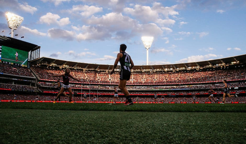 The Collingwood-Essendon Anzac Day clash was the season's best-attended match - AFL
