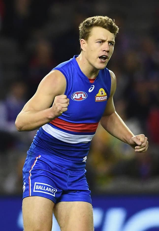 Jack Macrae answers the tough questions for AFL Record. - Western Bulldogs