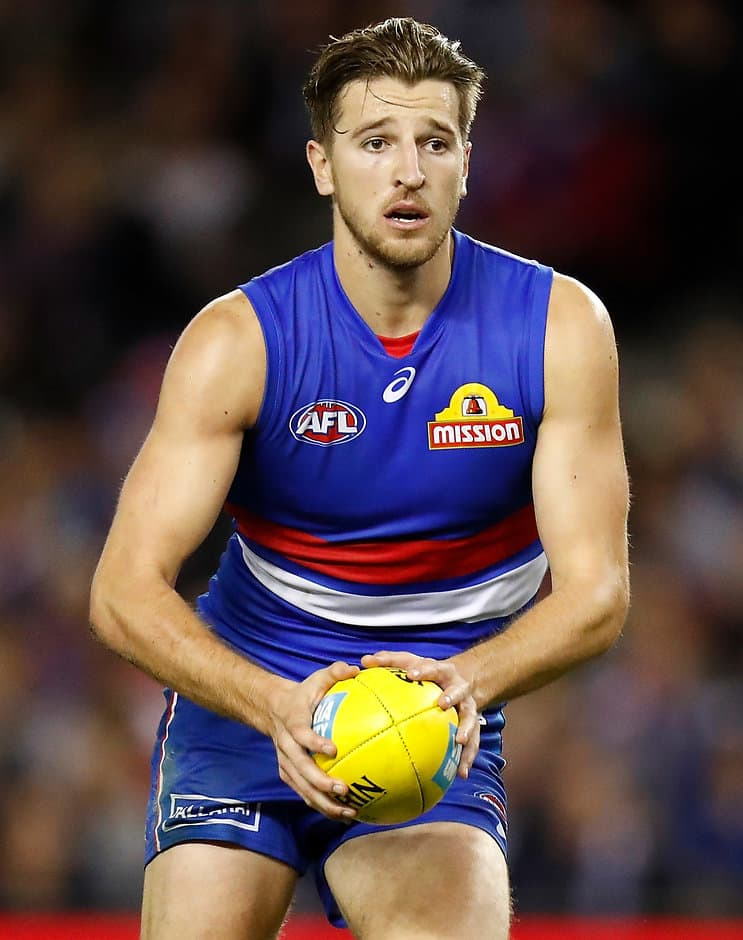 Marcus Bontempelli is no certainty to line up against Brisbane next week - AFL,Western Bulldogs,Luke Beveridge,Marcus Bontempelli,Easton Wood