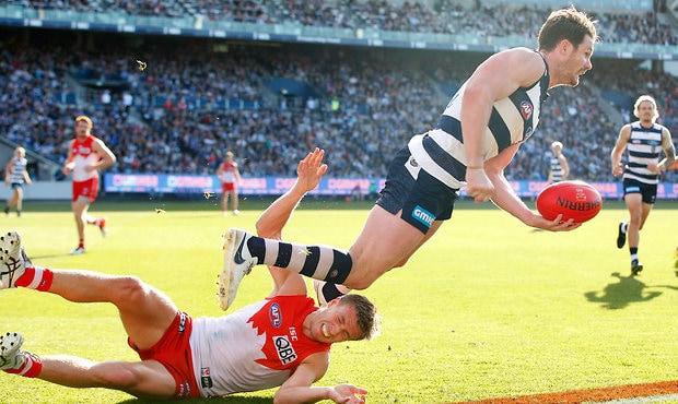 AFL 2018 Round 06 - Geelong v Sydney
