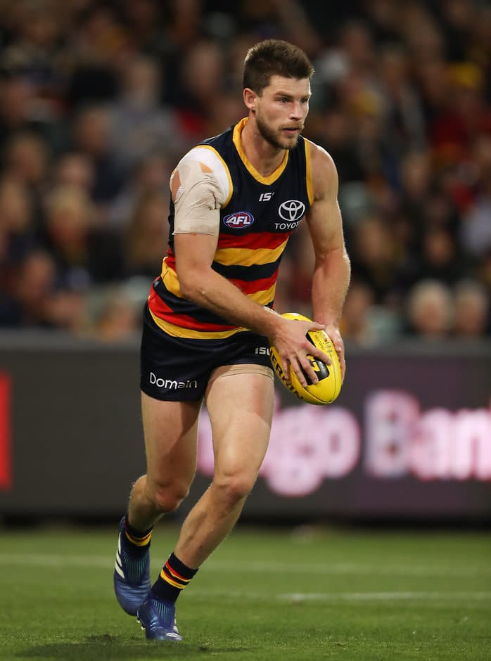 Bryce Gibbs has been outstanding for the Crows - Adelaide Crows,Carlton Blues,AFL,Adelaide Oval