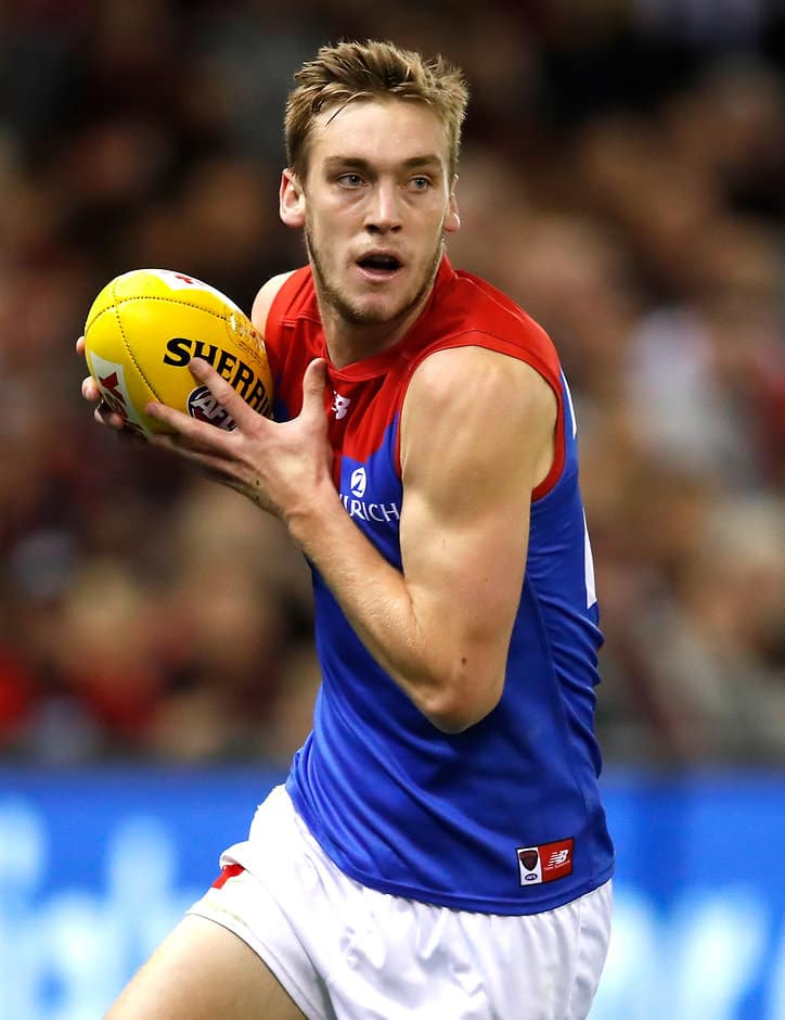 Oscar McDonald has a big task stopping Charlie Dixon on Friday - AFL,Melbourne Demons,Oscar McDonald