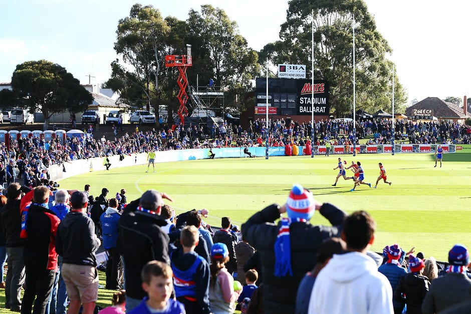 The Government made the announcement today, ahead of the State Election on Saturday, November 24. - Western Bulldogs