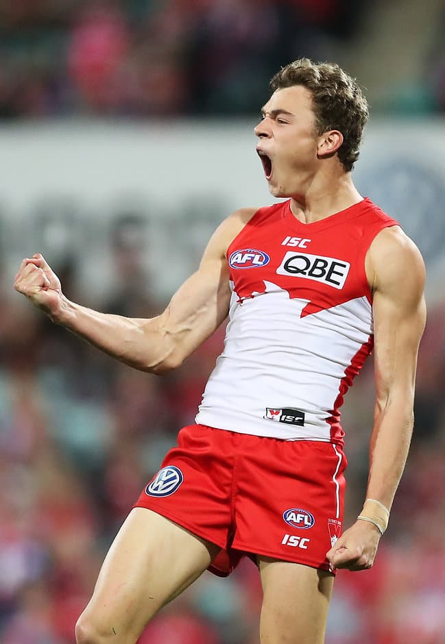 Will Hayward enters the match in hot form for the Swans - AFL,Hawthorn Hawks,Sydney Swans,MCG