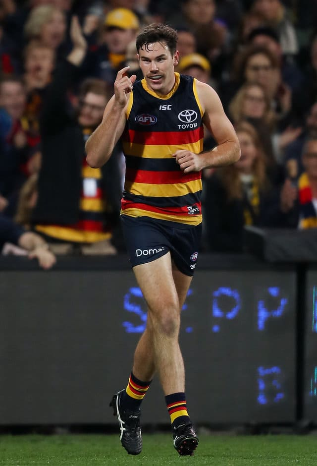 Mitch McGovern is a huge inclusion for the Crows - AFL,St Kilda Saints,Richmond Tigers,Collingwood Magpies,North Melbourne Kangaroos,Sydney Swans,Gold Coast Suns,Essendon Bombers,Fremantle Dockers,Brisbane Lions,Adelaide Crows,Geelong Cats,Melbourne Demons,Carlton Blues,Hawthorn Hawks,West Coast Eagles,Western Bulldogs,Port Adelaide Power,GWS Giants