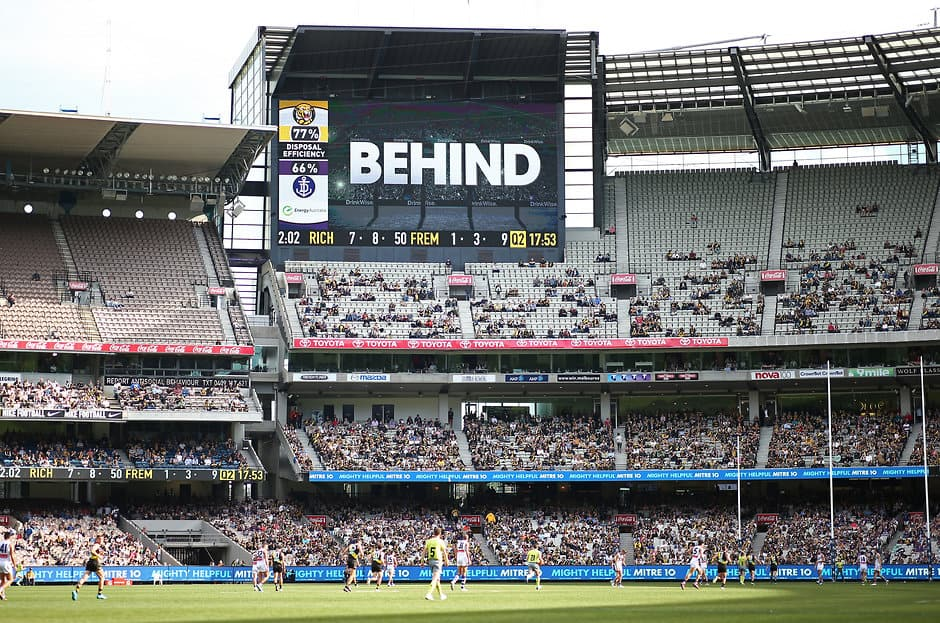 The score review system will have a new aspect to help umpires make their call in 2019 - AFL,Rules