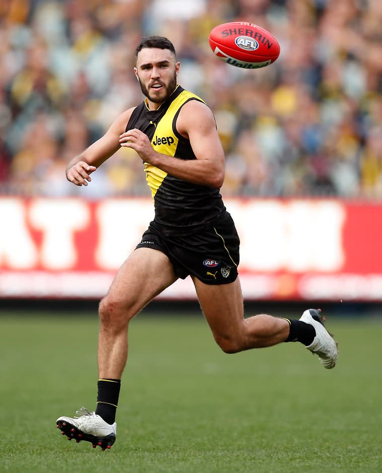 Shane Edwards in action against Fremantle last Sunday afternoon - Shane Edwards,Richmond Tigers