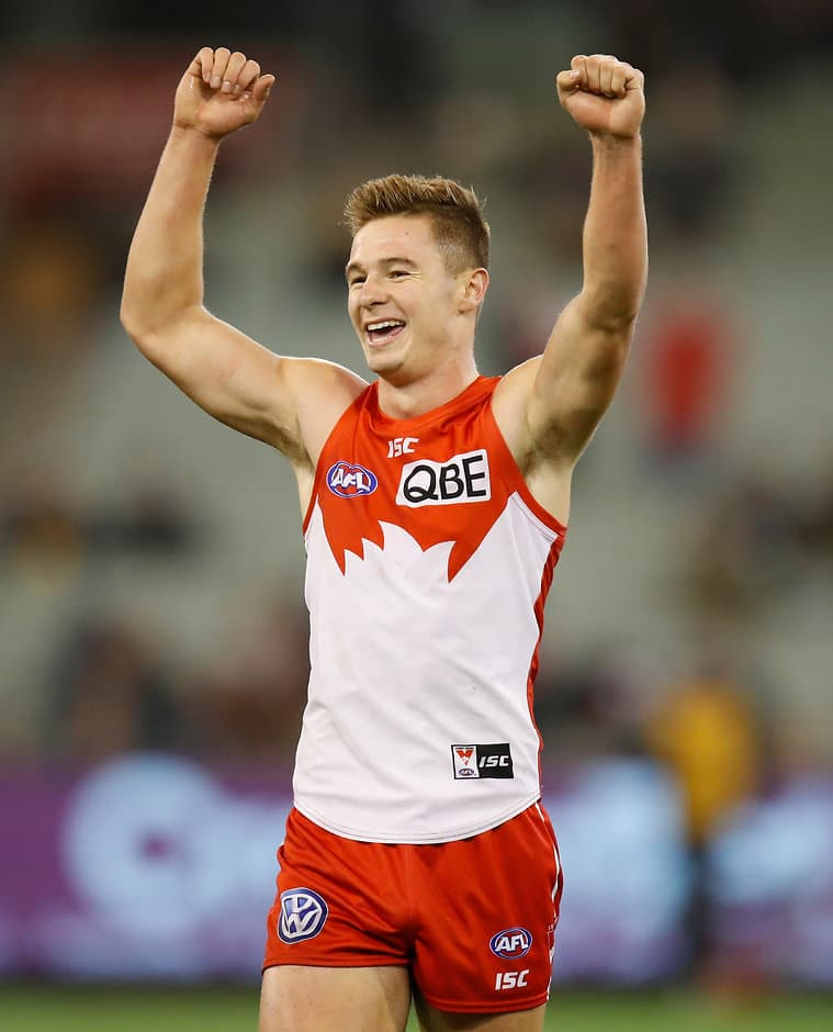 Ben Ronke loved the MCG once he got on it - AFL,John Longmire,Sydney Swans,Ben Ronke