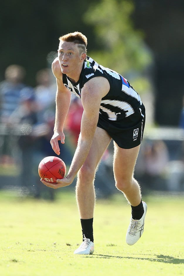 Nathan Murphy has played in defence and attack for the Pies' VFL team - AFL,Collingwood Magpies,Nathan Murphy