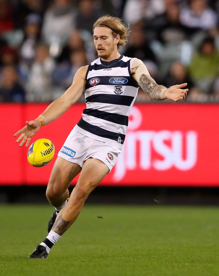 Tom Stewart has signed on with the Cats until 2021. - Geelong Cats,Tom Stewart,Lachie Fogarty,Charlie Constable,Mark O'Connor
