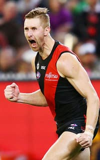 Shaun McKernan kicked a career-high four goals
