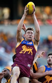 Andrews hurt the Hawks with four contested marks.