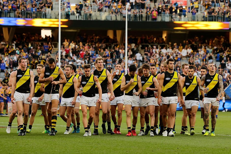 The Tigers have struggled on the road this season - and things aren't getting easier - AFL,Richmond Tigers