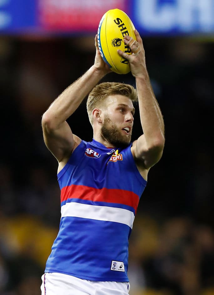Jackson Trengove has settled in a defensive role - AFL,Western Bulldogs,Luke Beveridge,Jackson Trengove