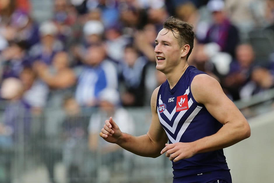 Brennan Cox could be the answer to Fremantle's woes up forward - AFL,Stats Files