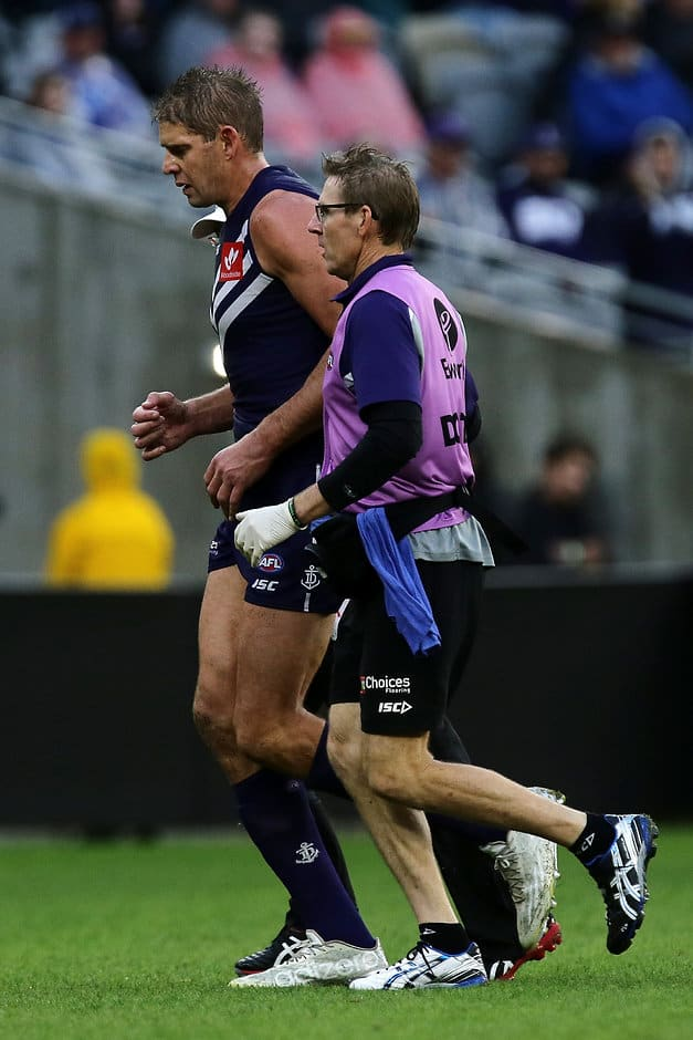Aaron Sandilands would be a huge in for the Dockers - AFL,Fremantle Dockers,Aaron Sandilands