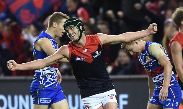 AFL 2018 Round 11 - Western Bulldogs v Melbourne