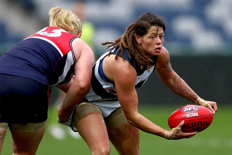 Richelle Cranston says she's 'super excited' to play in Geelong's inaugural AFLW season - AFLW,Richelle Cranston,Geelong Cats