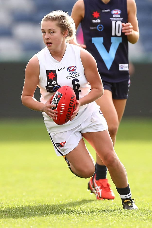Tyla Hanks has all the qualities to be an AFLW club captain, according to those in the know - AFLW