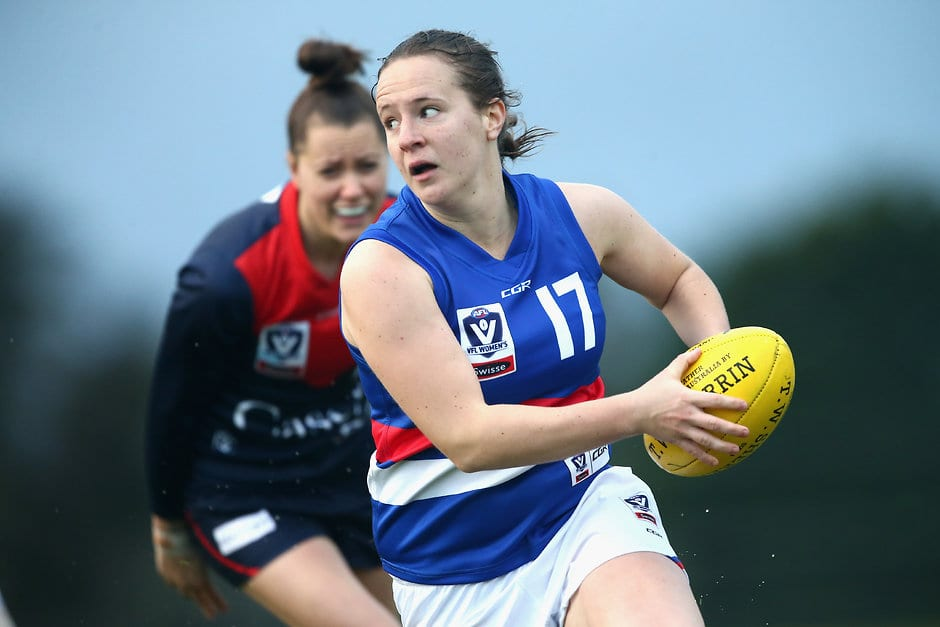 The 2019 VFL Women's fixture has been released, with the Western Bulldogs set to return to MARS Stadium in 2019. (Photo: AFL Media) - Western Bulldogs,VFL