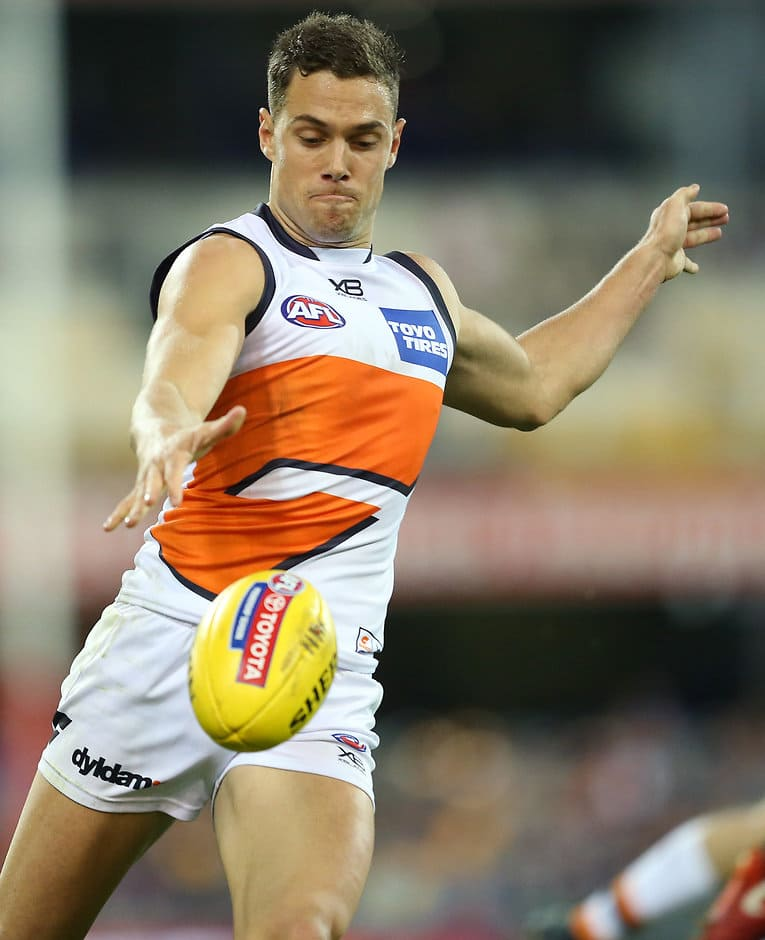 Josh Kelly had a dominant game for the Giants - AFL,Brisbane Lions,GWS Giants,Leon Cameron