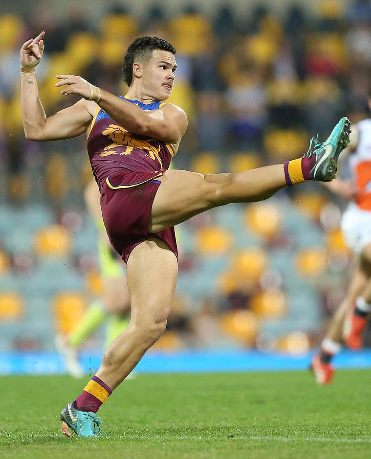 Cam Rayner is looking more comfortable at AFL level after a harsh lesson early in the year - AFL,Brisbane Lions,Cameron Rayner,Rising Star