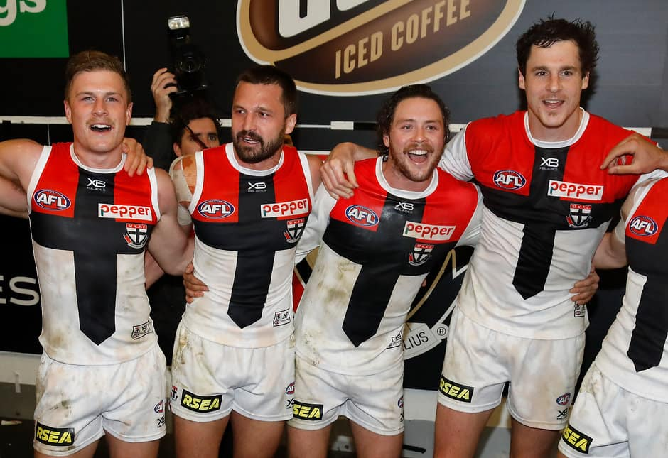 St Kilda produced a stunning performance to finish two-point winners at the MCG.  - St Kilda Saints,Melbourne Demons