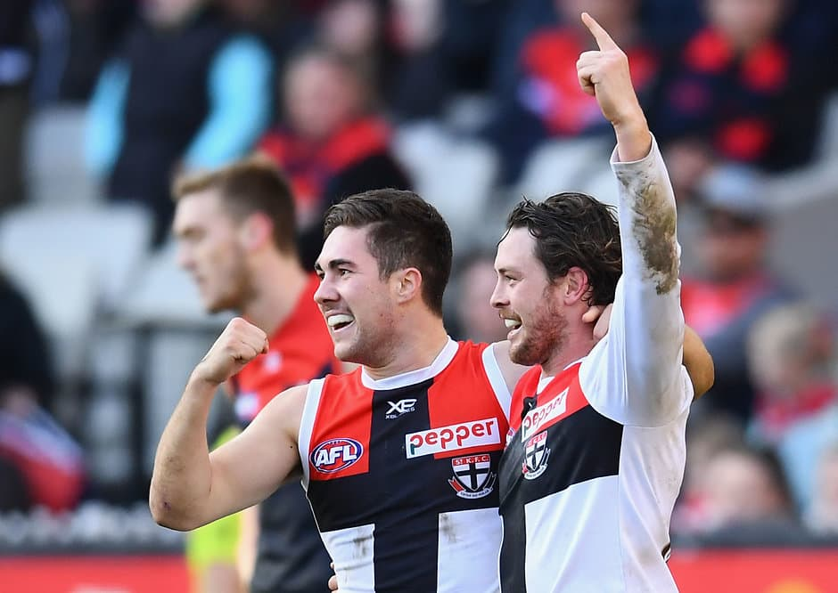 St Kilda will line up twice against only one 2018 top-eight side in Season 2019. - St Kilda Saints,Fixture