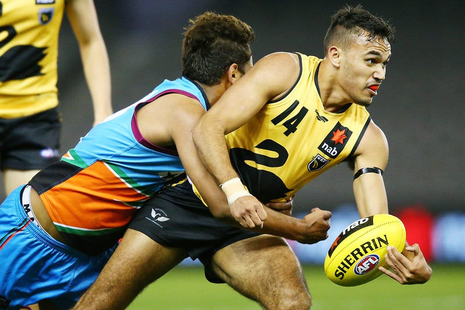 U18 All Australian Sydney Stack could fill Richmond's remaining list spot - AFL,Draft,Richmond Tigers,Melbourne Demons,GWS Giants,Gold Coast Suns,Carlton Blues,Western Bulldogs