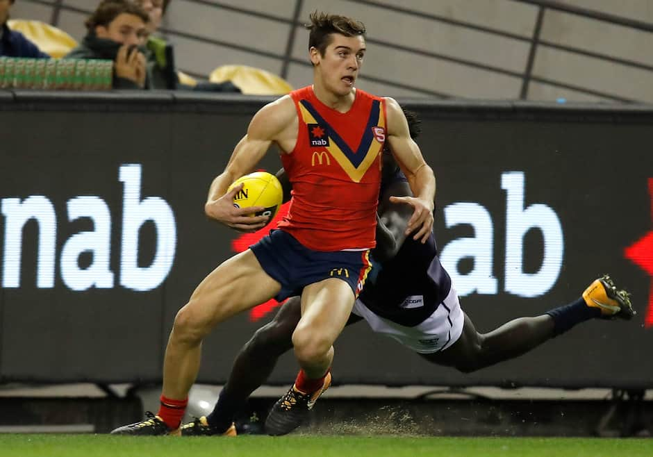 Connor Rozee in action for South Australia at the NAB AFL Under-18 Championships - AFL,Draft,Podcast,Road to the Draft