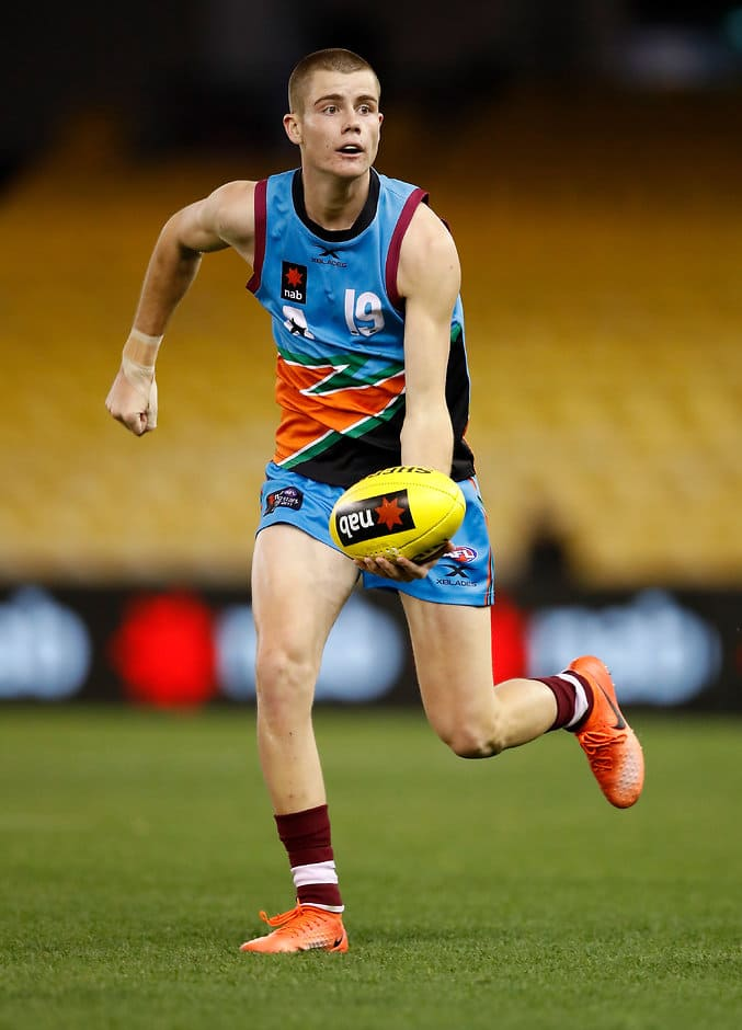 Bailey Scott was captain of the Allies at the under-18 championships - AFL,Draft,Under-18s,Draft Combine