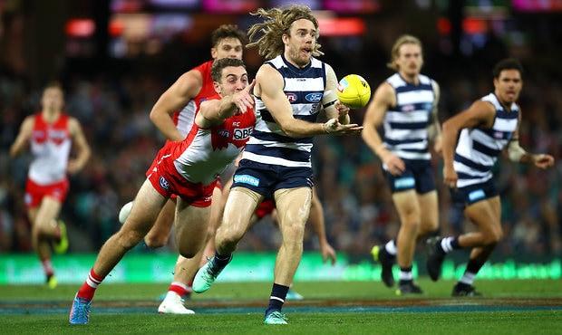 AFL 2018 Round 16 - Sydney v Geelong