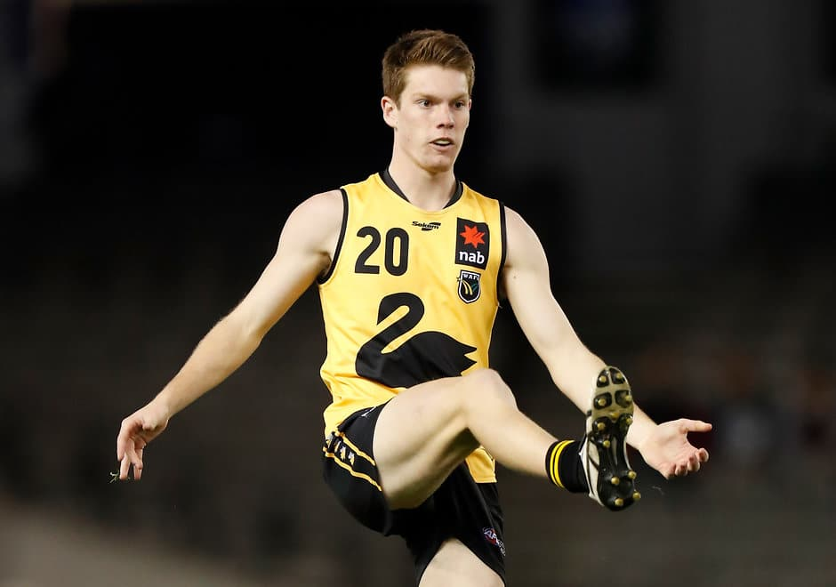 Luke Foley went undrafted last year before being picked by the Eagles at number 31 - AFL,Draft,West Coast Eagles