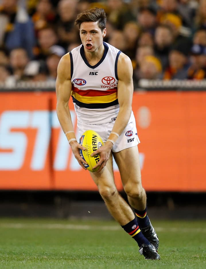 Jake Kelly is relishing the opportunity to play more on the wing - AFL,Adelaide Crows,Jake Kelly