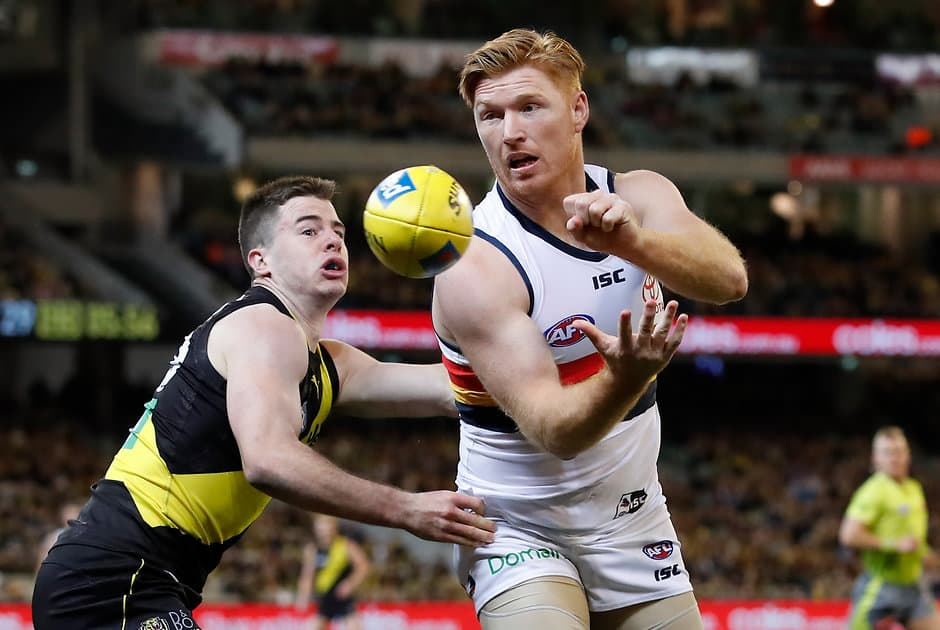 Kyle Cheney has been delisted by the Crows  - AFL,Adelaide Crows,Paul Hunter,Kyle Cheney