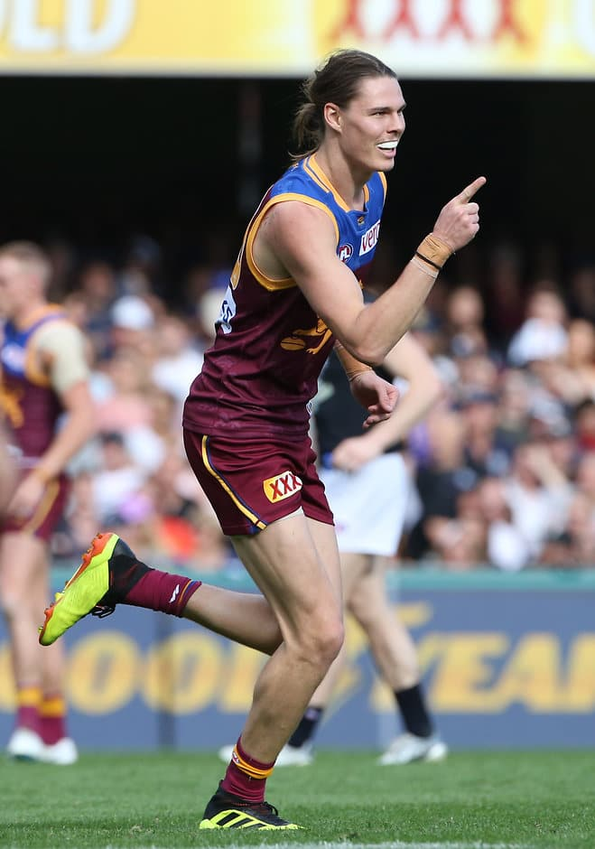 Eric Hipwood was the star of the show against the Blues - AFL,Brisbane Lions,Carlton Blues,Gabba