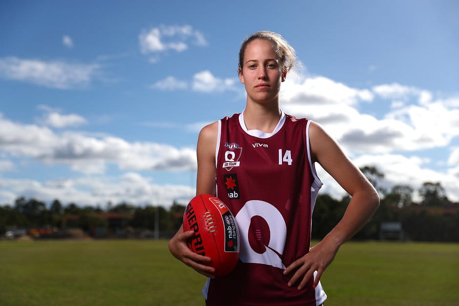 Queensland captain Tori Groves-Little - AFLW,AFLW Draft