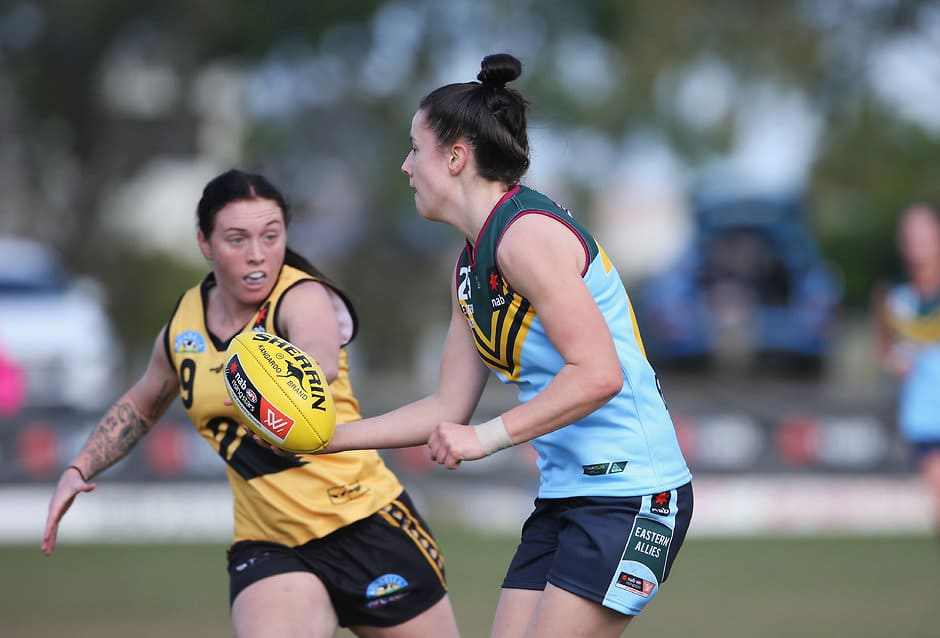 Libby Haines rebounded well out of defence for Eastern Allies - AFLW,AFLW Draft,AFLW Under-18s