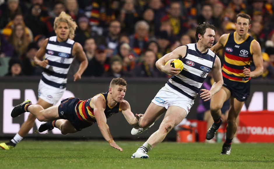 Patrick Dangerfield was prolific against his old side - Geelong Cats