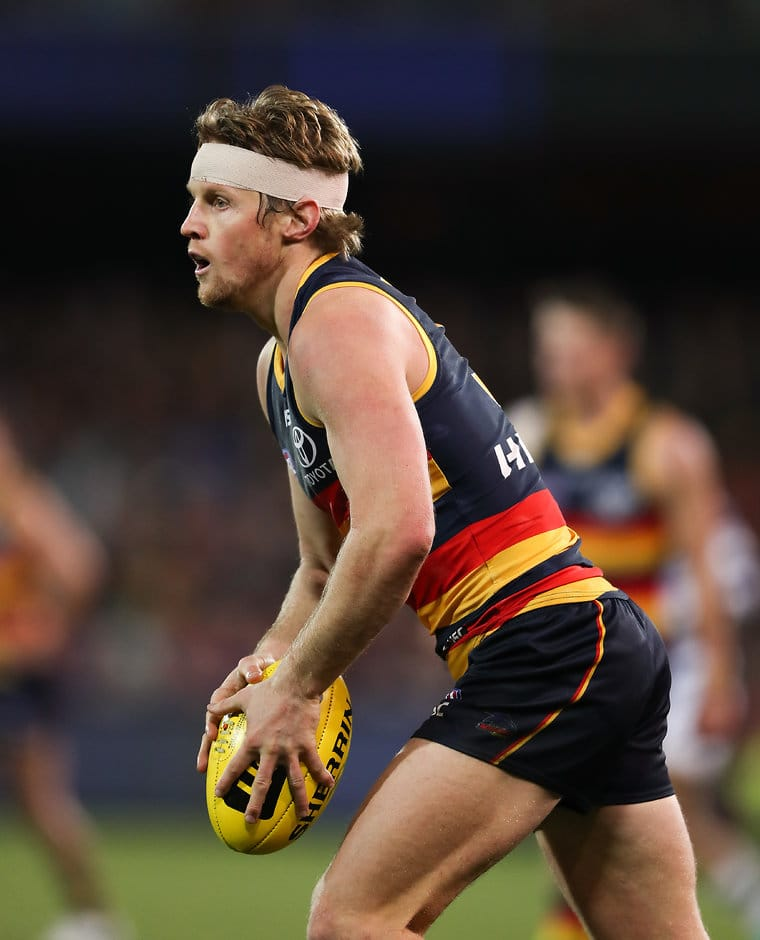 Rory Sloane was as combative as ever against the Cats - AFL,Adelaide Crows,Don Pyke