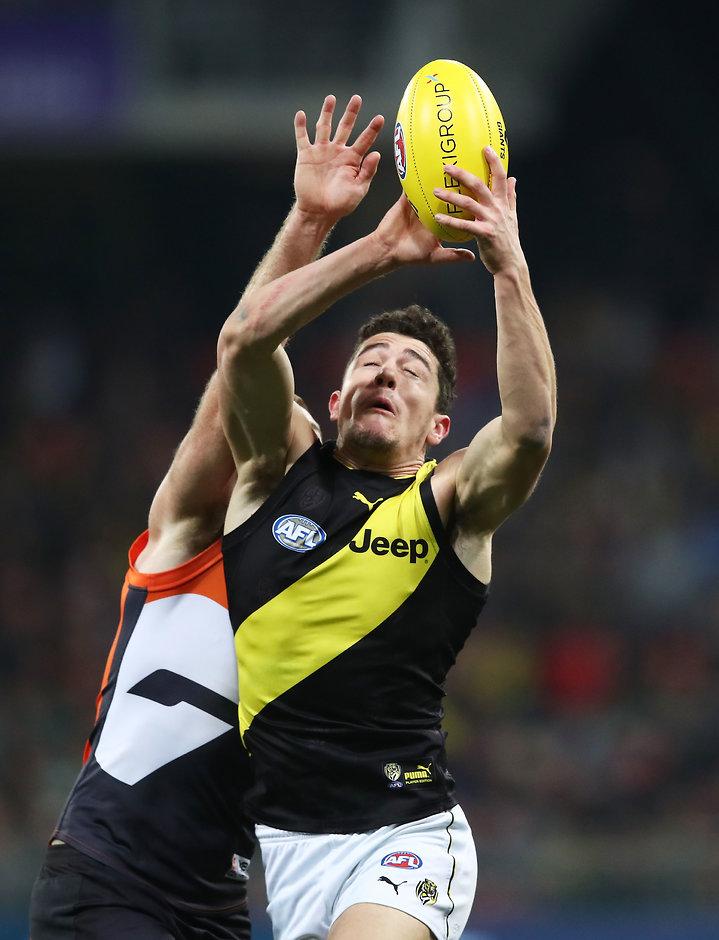 Apart from his kicking, Jason Castagna had a good game - AFL,Richmond Tigers,Damien Hardwick