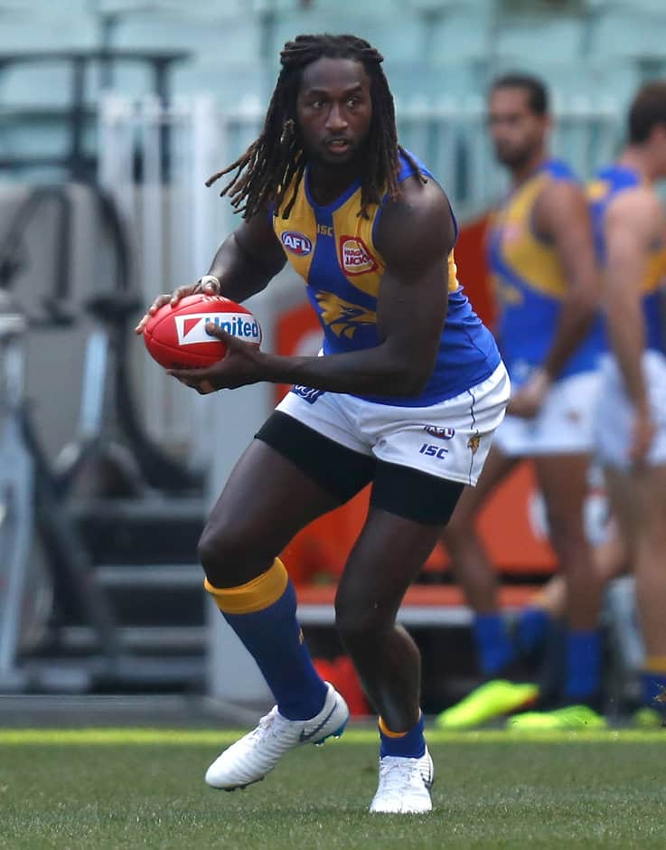 Nic Naitanui may have ruptured the ACL in his 'good' right knee - AFL,West Coast Eagles,Nic Naitanui,Luke Shuey