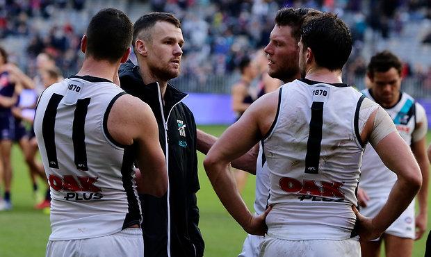 AFL 2018 Round 17 - Fremantle v Port Adelaide